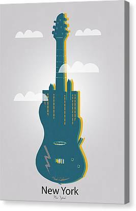 New York  Canvas Print by Mark Ashkenazi