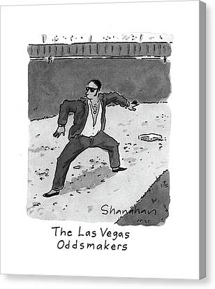 New Yorker April 5th, 1993 Canvas Print by Danny Shanahan