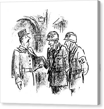 New Yorker October 28th, 1944 Canvas Print