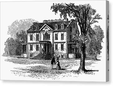 Newark Schuyler Mansion Canvas Print by Granger