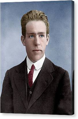 Niels Bohr Canvas Print by Library Of Congress