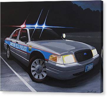 Night Patrol Canvas Print