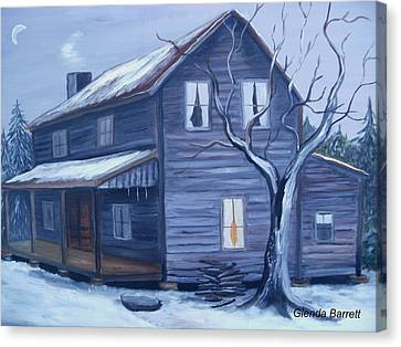 Nightfall Canvas Print by Glenda Barrett