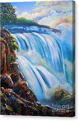 Nixon's Surging Flow Of Immense Power And Beauty Canvas Print