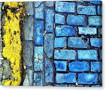 No Parking Canvas Print by Olivier Calas