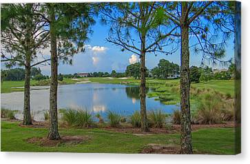 Tee Time Canvas Print by Dennis Dugan