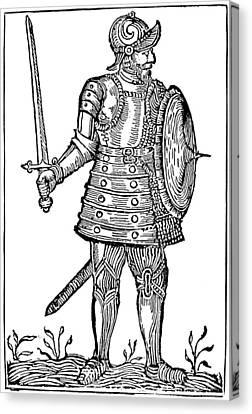 Norse Warrior, 9th Century Canvas Print