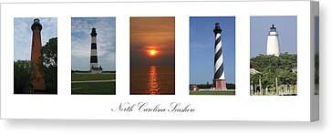 North Carolina Seashore Canvas Print