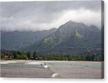 North Shore Kauai Canvas Print by Lannie Boesiger