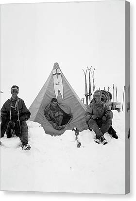 Northern Party Antarctic Explorers Canvas Print
