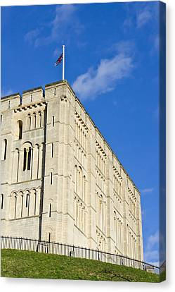 Norwich Castle Canvas Print by Tom Gowanlock