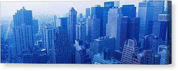 Nyc, New York City, New York State, Usa Canvas Print by Panoramic Images