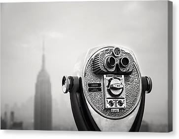 Nyc Viewpoint Canvas Print by Nina Papiorek
