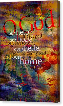 O God Our Help Canvas Print
