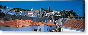 Obidos Portugal Canvas Print by Panoramic Images