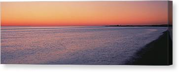 Ocean At Sunset, Provincetown, Cape Canvas Print by Panoramic Images