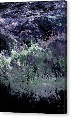 Ocean Series 11 Canvas Print by Franco Timitilli
