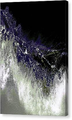 Ocean Series 35 Canvas Print by Franco Timitilli