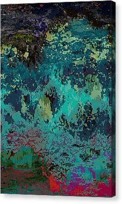Ocean Series 5 Canvas Print by Franco Timitilli