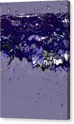 Ocean Series 9 Canvas Print by Franco Timitilli