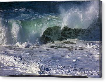 Sonoma Coast Canvas Print - Ocean Waves by Garry Gay