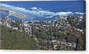 Ogunquit, Maine Canvas Print by Dave Cleaveland