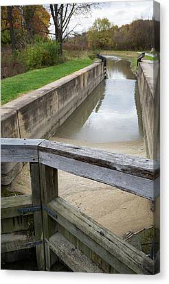 Towpath Canvas Print - Ohio And Erie Canal by Jim West