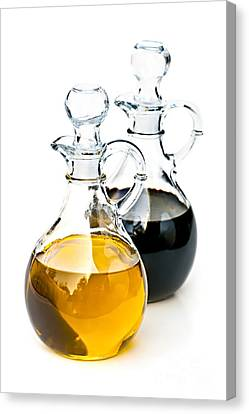 Oil And Vinegar Canvas Print