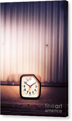 Old Analog Clock Canvas Print by Jorgo Photography - Wall Art Gallery