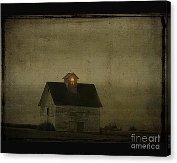 Old Barn Canvas Print by Jim Wright