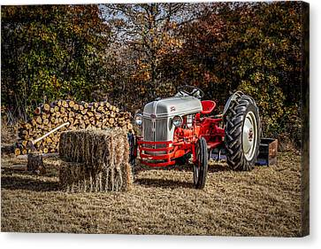 Old Ford Tractor Canvas Print by Doug Long
