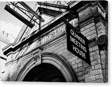 old friends meeting house frederick street Belfast Northern Ireland UK Canvas Print