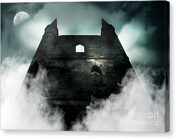 Old Haunted Castle Canvas Print