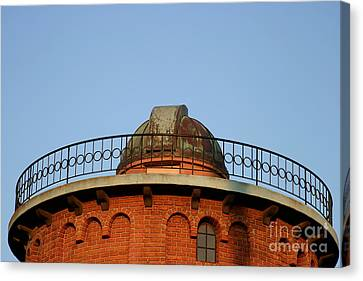 Canvas Print featuring the photograph Old Observatory by Henrik Lehnerer