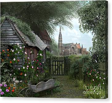 Old Shed Canvas Print by Dominic Davison