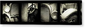 Old Timer Canvas Print by Les Cunliffe