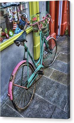 Olde Bike Canvas Print by Ian Mitchell