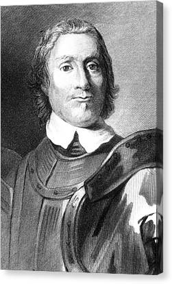 Oliver Cromwell Canvas Print by Collection Abecasis
