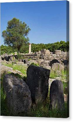 Olympia, Greece Canvas Print