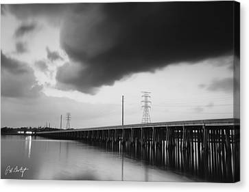 Ominous Cloud Canvas Print by Phill Doherty