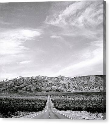 On The Road Canvas Print by Shaun Higson