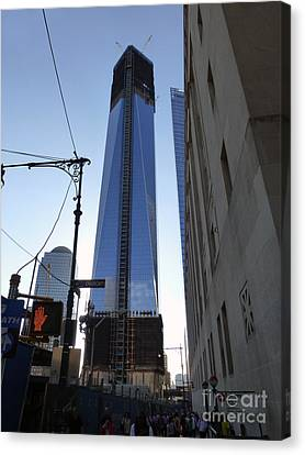 One Wtc Canvas Print by Steven Spak