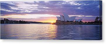 Opera House At The Waterfront, Sydney Canvas Print