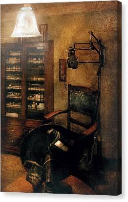 Optometrist Canvas Print - Optometrist - The  Optometrists Office by Mike Savad