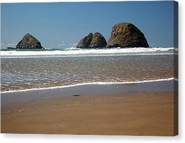 Wayside Canvas Print - Or, Oceanside Beach State Wayside by Jamie and Judy Wild