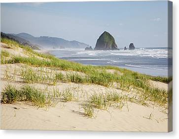 Jamie Canvas Print - Or, Oregon Coast, Cannon Beach by Jamie and Judy Wild