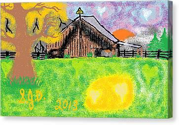 Oregon Canvas Print by Joe Dillon