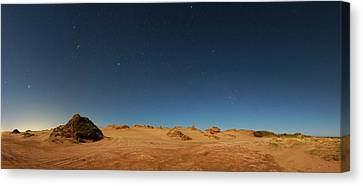 Orion Constellation Canvas Print by Luis Argerich