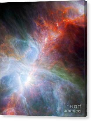 Orion Nebula Canvas Print by Science Source