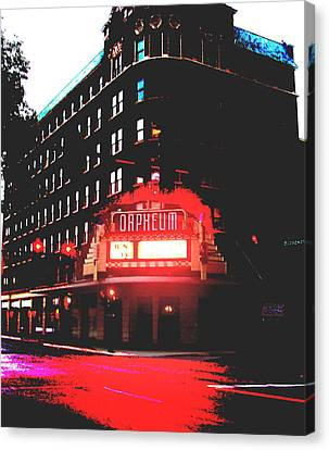 Orpheum Theater  Canvas Print